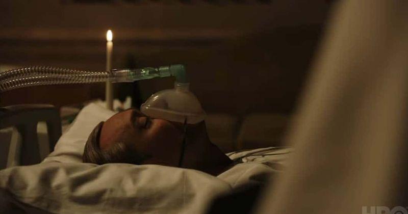 Шэрон Стоун Новый Папа сериал 5 серия