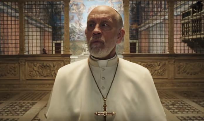 Новый Папа 7 серия Джон Малкович