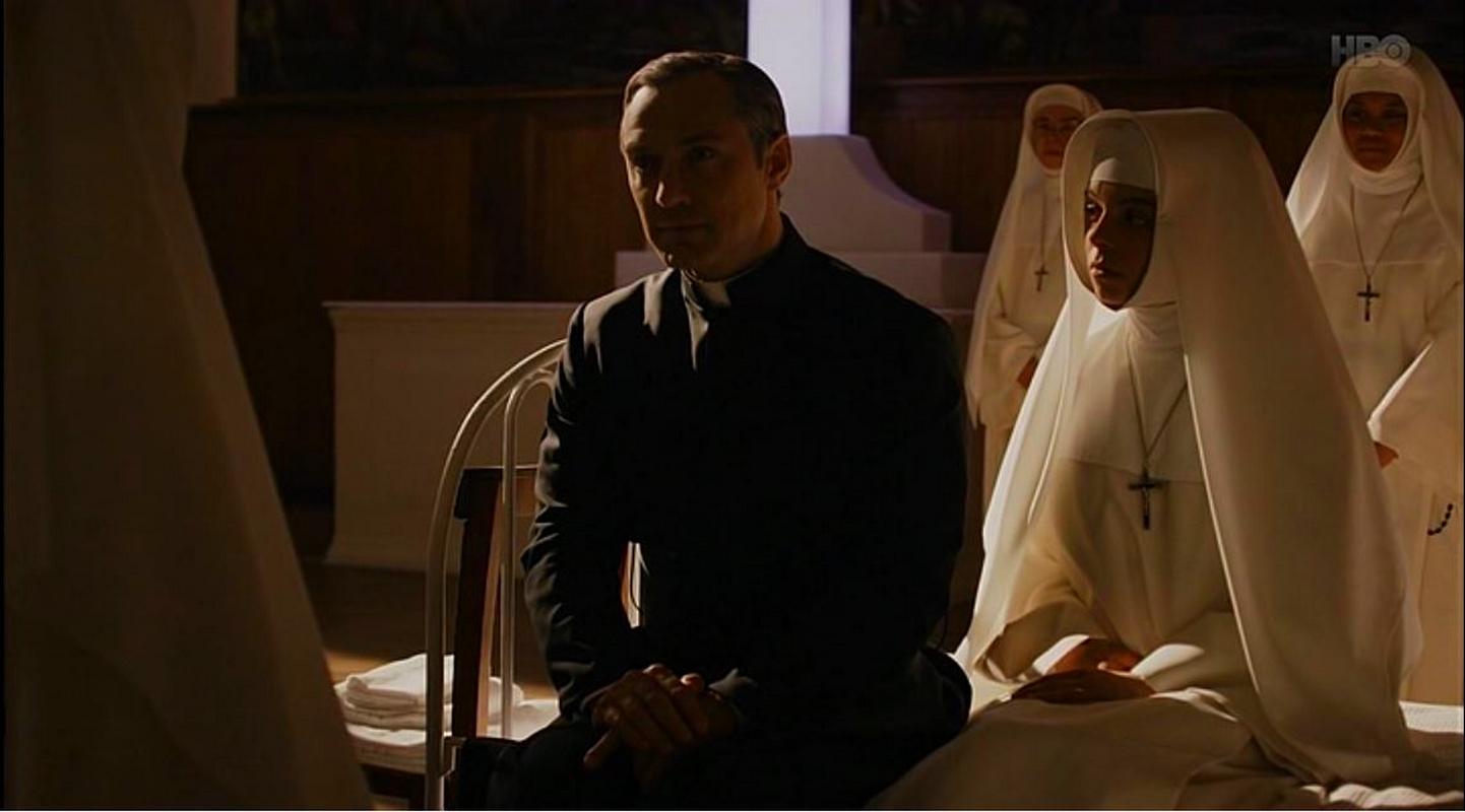 Новый Папа 8 серия Джуд Лоу