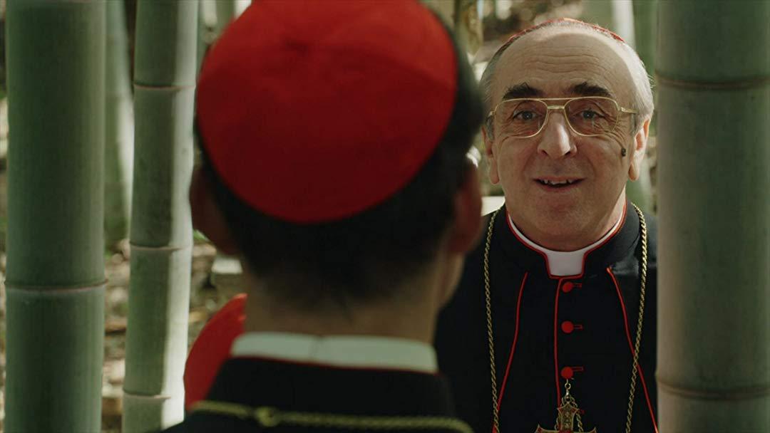 Новый Папа 9 серия кардинал Войелло