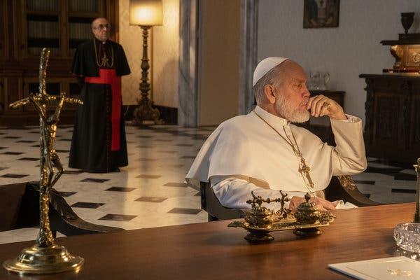 Сериал Новый Папа 6 серия Джон Малкович