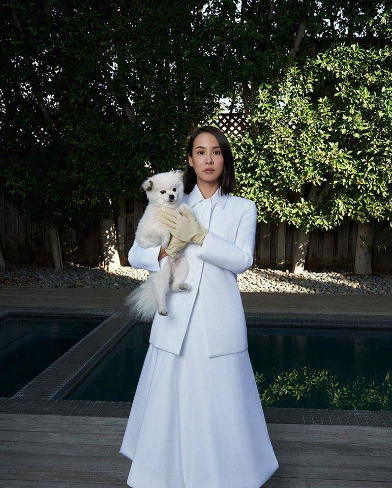 Чо Ё-джон (Jo Yeo-jeong) для W Magazine актриса из Паразитов