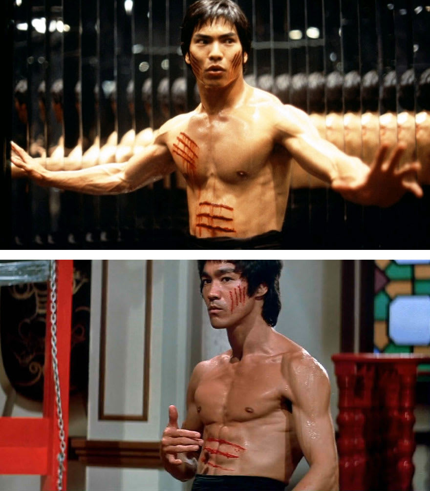Джейсон Скотт Ли в роли Брюса Ли в фильме Дракон История Брюса Ли (Dragon The Bruce Lee Story) 1993