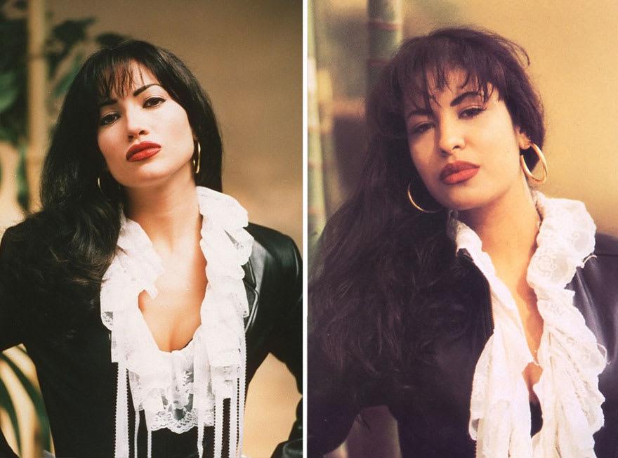 Дженнифер Лопес в роли Селены Кинтанилья-Перес в фильме Селена (Selena) 1997