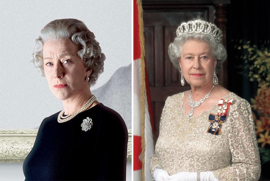 Хелен Миррен в роли королевы Елизаветы II в фильме Королеева (The Queen) 2006