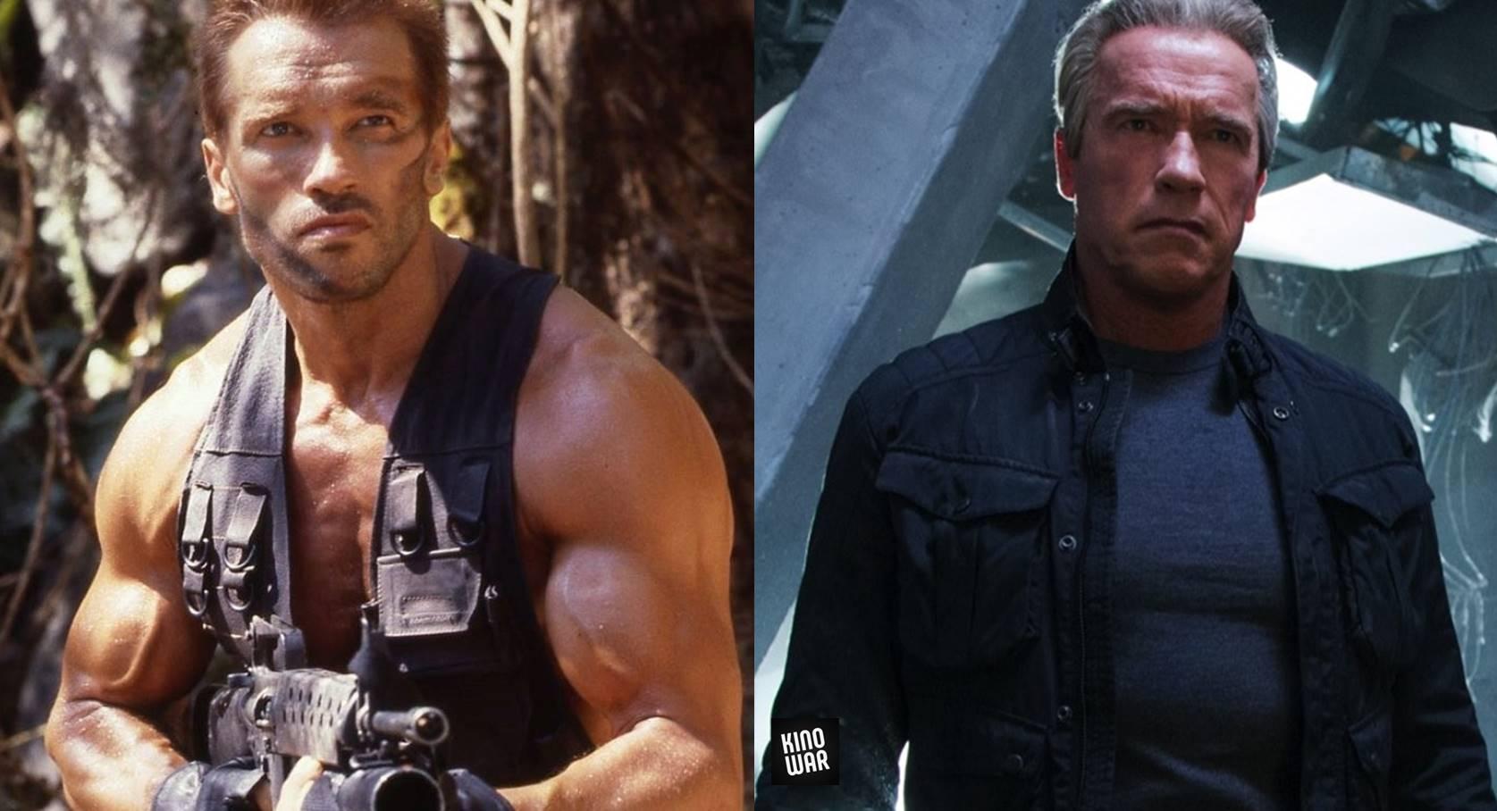 Герои боевиков 80-х 90-х тогда и сейчас Арнольд Шварценеггер