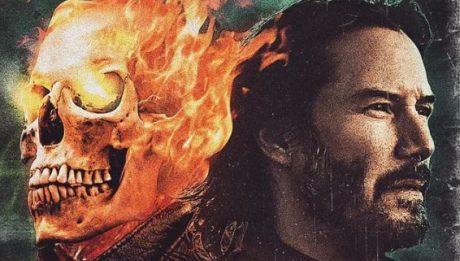 Киану Ривз как Призрачный гонщик Ghost Rider