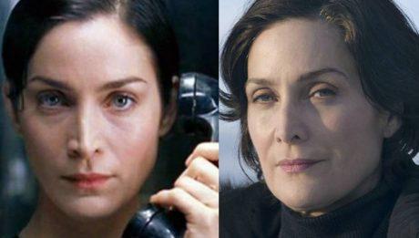 Матрица тогда и сейчас 20 лет спустя Керри-Энн Мосс Тринити актриса
