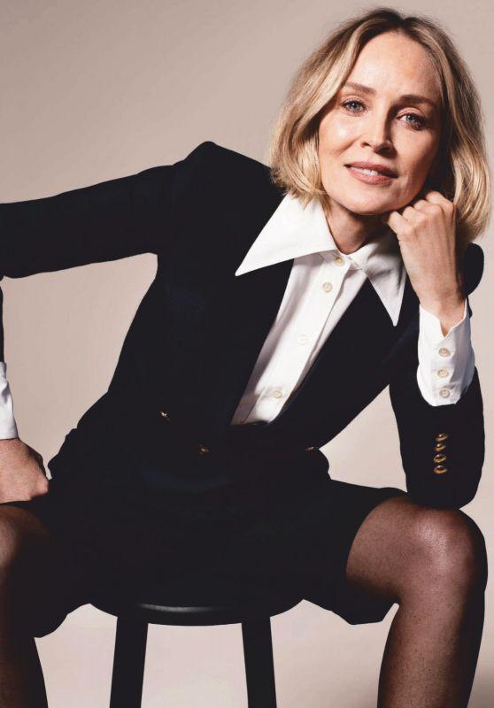 Шэрон Стоун Vogue Германия 2020 фотосессия