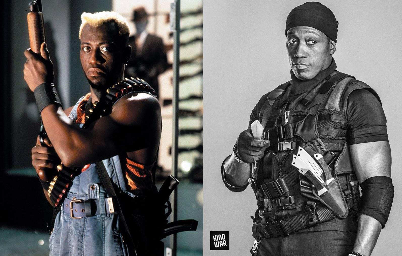 Герои боевиков 80-х 90-х тогда и сейчас Уэсли Снайпс