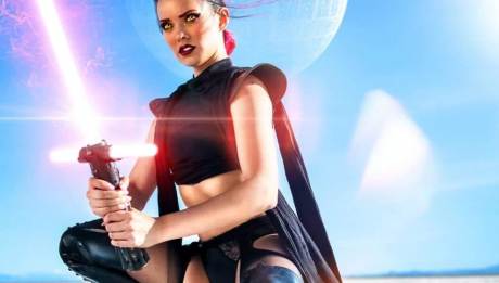 Джоани Бросас звездные войны белье joanie brosas cosplay star wars underwear