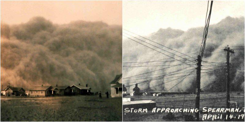 вдохновение для фильма Интерстеллар реальные песчаные бури в США