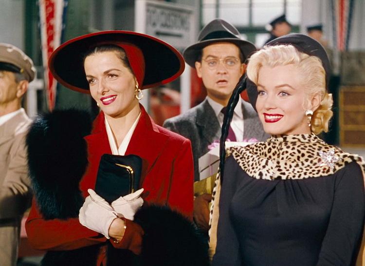 Джейн Расселл и Мэрилин Монро - Джентльмены предпочитают блондинок (Gentlemen Prefer Blondes)