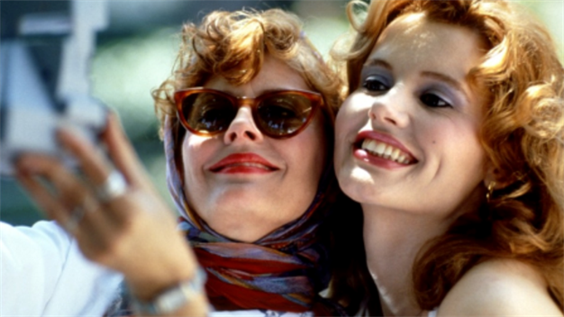 Сьюзан Сарандон и Джина Дэвис - Тельма и Луиза (Thelma & Louise) 1991