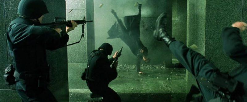 Кадры фильма Матрица