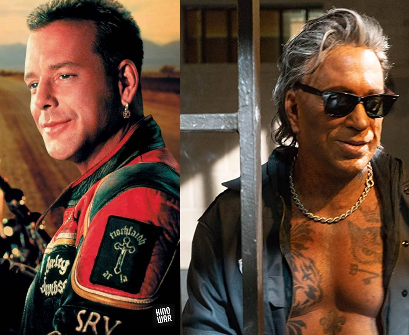Mickey Rourke before after