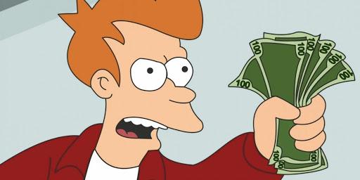 """Фрай, """"Футурама"""" – «Заткнись и возьми мои деньги»"""