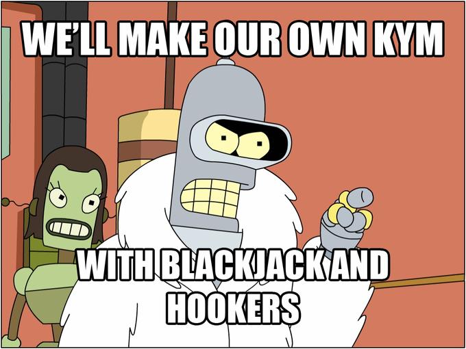 """Бендер, """"Футурама""""– «Мы откроем свое казино, с блэкджеком и шлюхами»"""