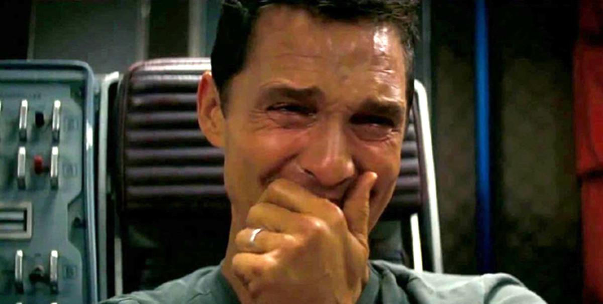 """Мэттью Макконахи, """"Интерстеллар"""" – «Плачущий Макконахи»"""