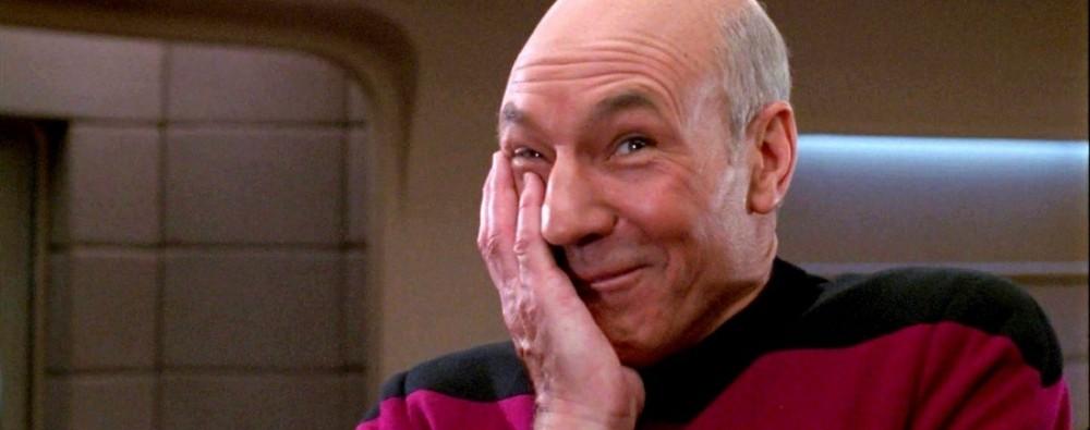 """Патрик Стюарт, """"Звездный путь"""" – «Рукалицо (facepalm)»"""