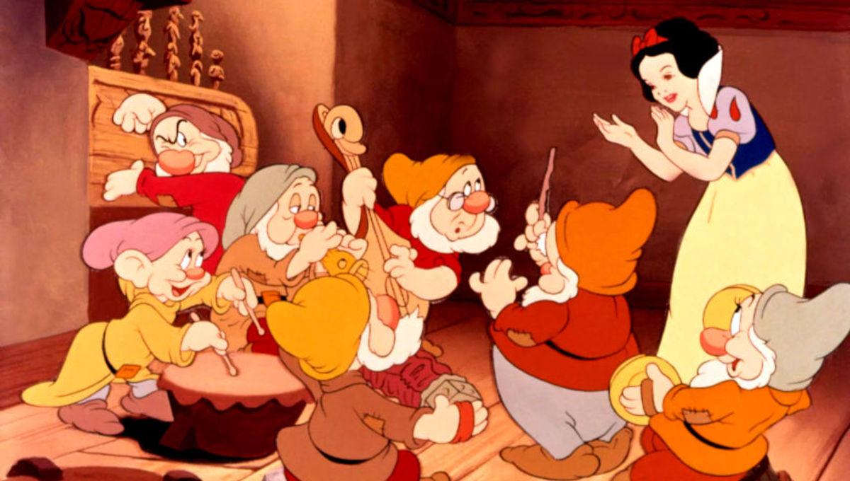 Белоснежка и семь гномов(Snow White and the Seven Dwarfs) 1937