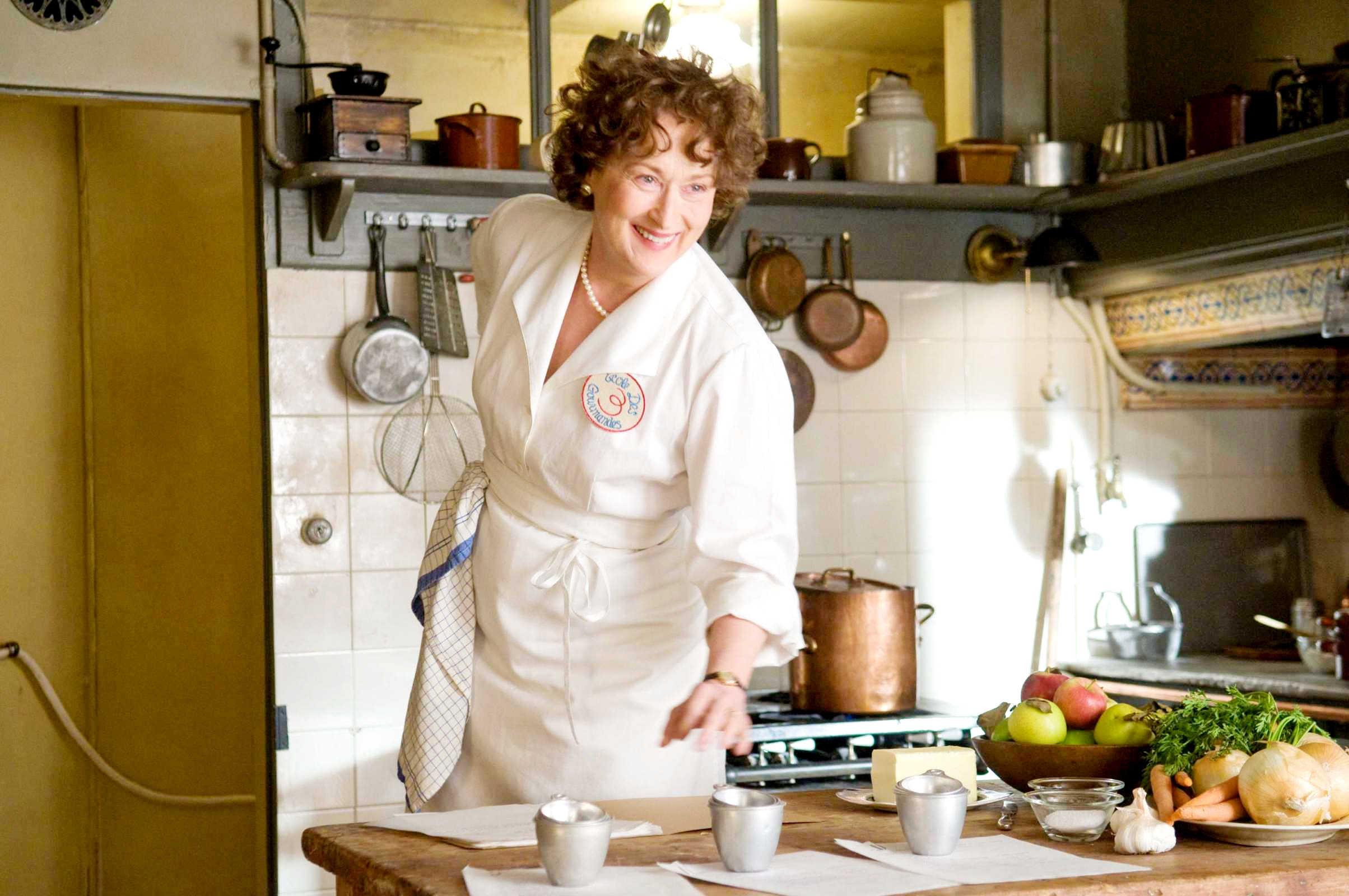 Джули и Джулия Готовим счастье по рецепту (Julie & Julia, 2009, IMDb 7,0)