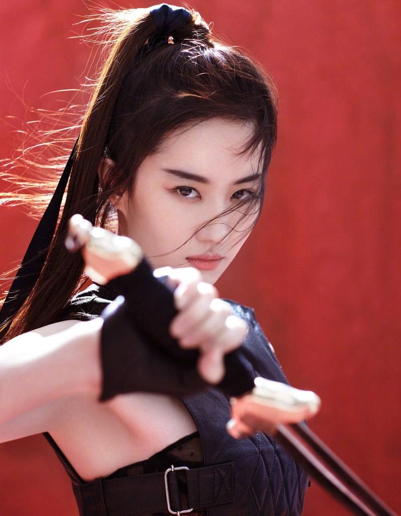 Лю Ифэй фото Liu Yifei photo Мулан Mulan